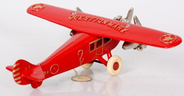 Dent Hardware Co. Airplane Toy