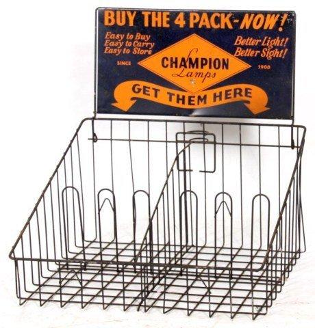 Champion Lamps Advertising Display