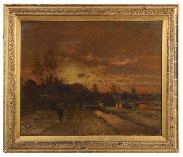 22: L. Lanckow O/C Painting