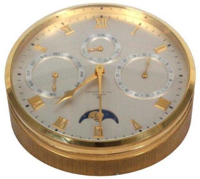 383: Tiffany & Co Desk Clock