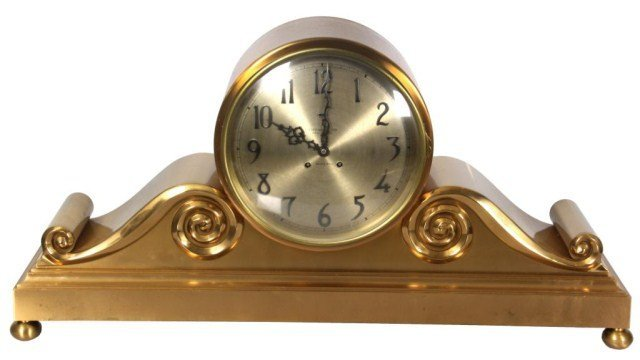 1: Tiffany Chelsea Mantle Tambour Clock