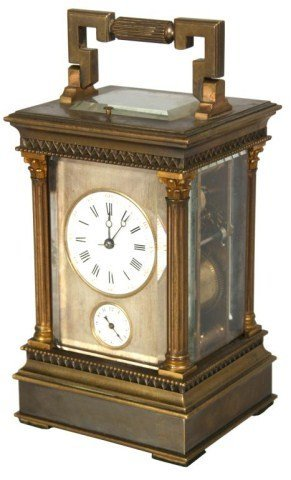 3: Hour Repeater & Alarm Carriage Clock
