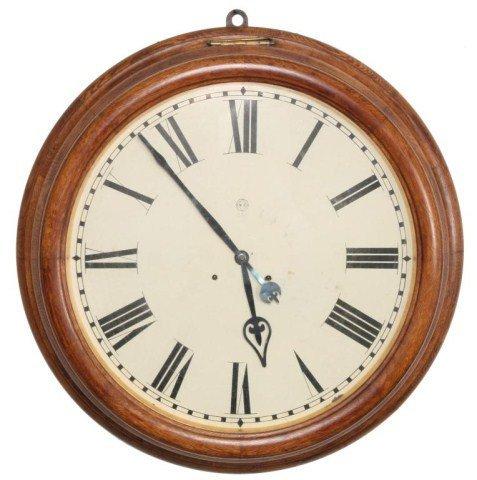 5: Seth Thomas Oak Gallery Clock