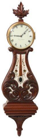 7: American Lyre Banjo Clock