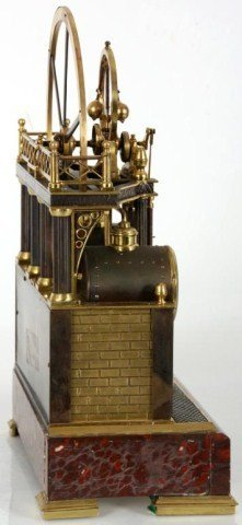 8: French Industrial Steam Clock - 2