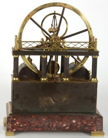 8: French Industrial Steam Clock - 3