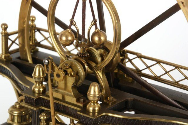 8: French Industrial Steam Clock - 5