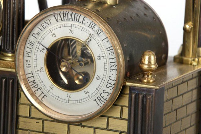 8: French Industrial Steam Clock - 6