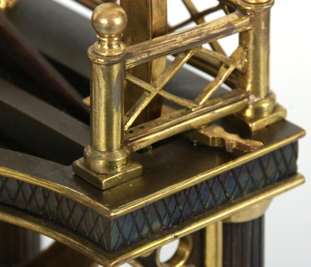 8: French Industrial Steam Clock - 9