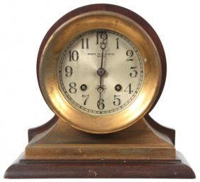 17: Chelsea 8 Day Ships Bell Mantle Clock