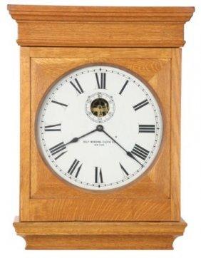 20: Oak Self Winding Clock
