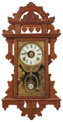 22: Welch Eclipse Wall Clock