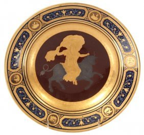 391: Royal Vienna Plate – Europa on the Bull