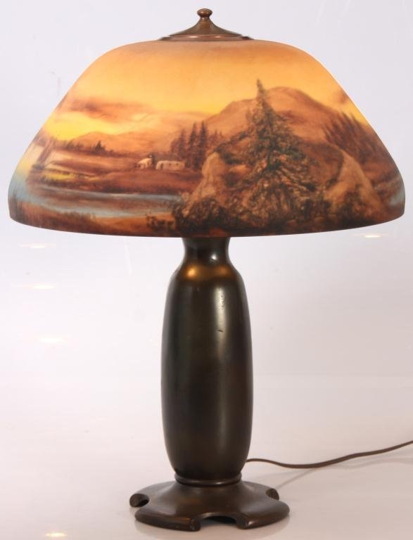 "Moe Bridges 18"" Scenic Table Lamp"
