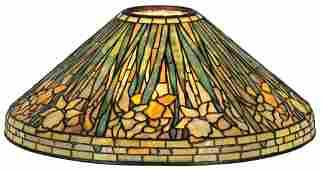 "20"" Tiffany Studios Daffodil Lamp Shade"