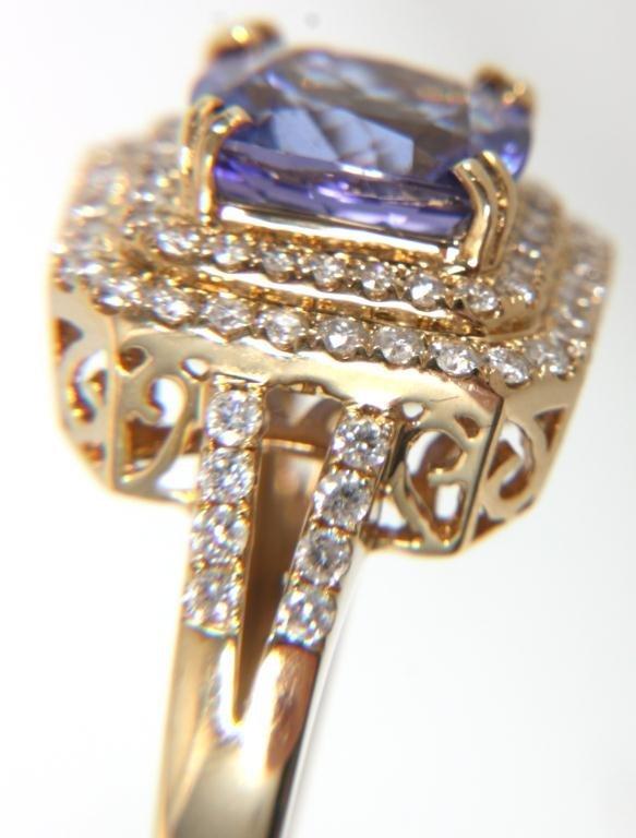 Orianne 14K Diamond & Tanzanite Ring - 3