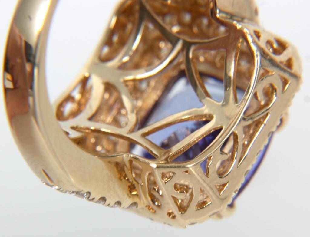 Orianne 14K Diamond & Tanzanite Ring - 5