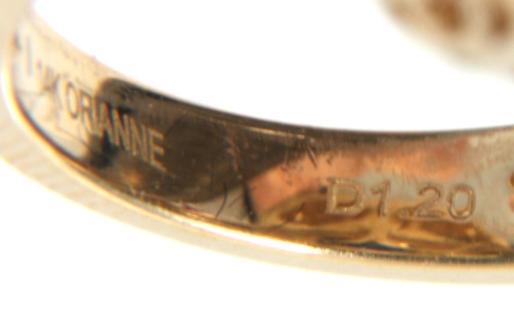 Orianne 14K Diamond & Tanzanite Ring - 7