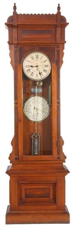 American Double Dial Calendar Pinwheel Regulator
