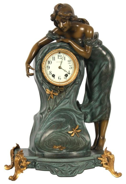 Seth Thomas Figural Clock No. 8004