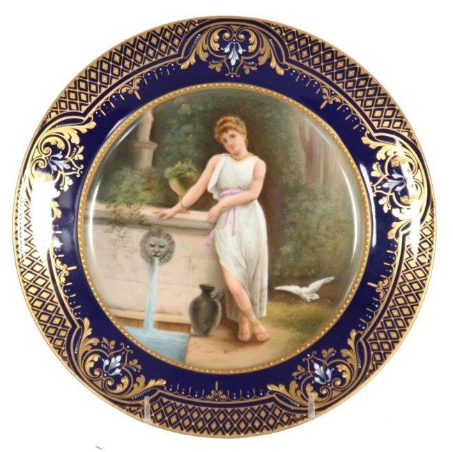 9.5 in. Royal Vienna Plate - Melitta