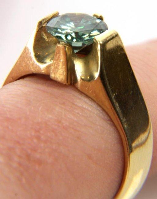 1.92 Carat Green Diamond