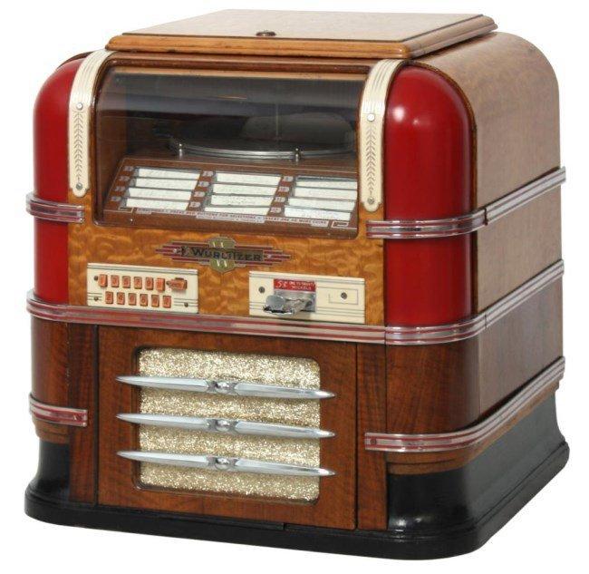 Wurlitzer Table Model 61 Jukebox – 1938