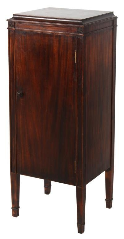 Brown's Disc Record Cabinet by Globe-Wernicke