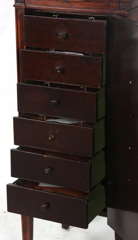 Brown's Disc Record Cabinet by Globe-Wernicke - 6