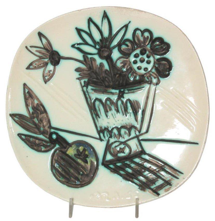 Picasso Madoura Still Life Plate