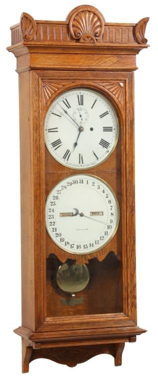 Seth Thomas No. 12 Office Calendar Clock