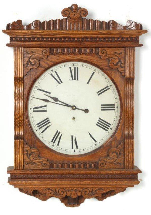 "Ansonia ""Foyer No. 2"" Hanging Wall Clock"