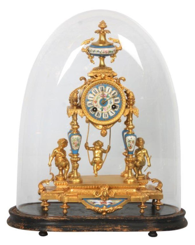 Farcot French Swinger Mantle Clock