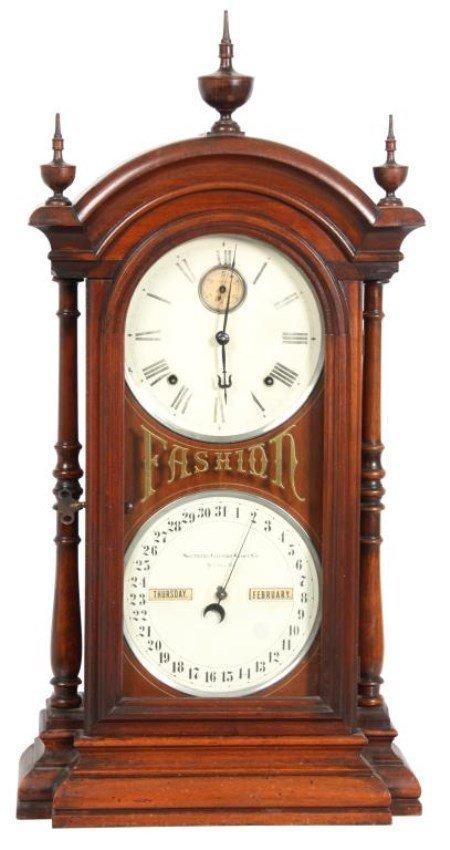 Southern Fashion No. 5 Double Dial Clock