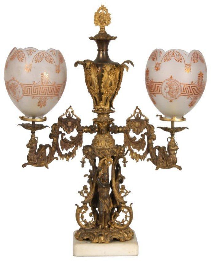 Attr: Cornelius Bronze Astral Table Lamp