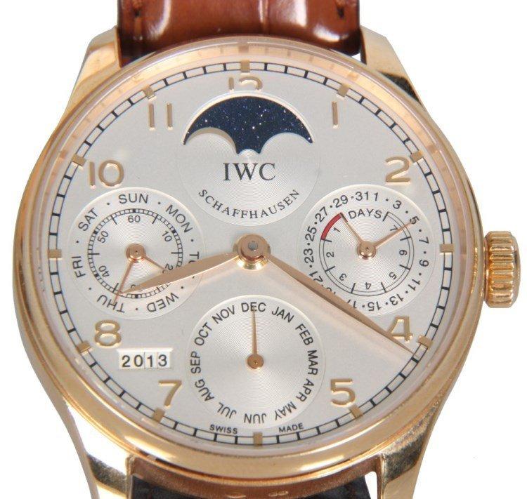 IWC Perpetual Calendar Watch