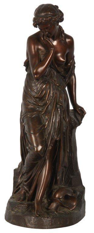 Eugene Cartier Bronze Woman