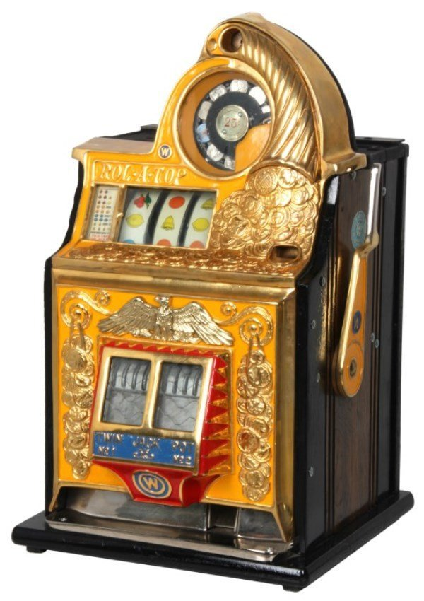 Watling Rol-A-Top Twin Jack Pot Slot Machine