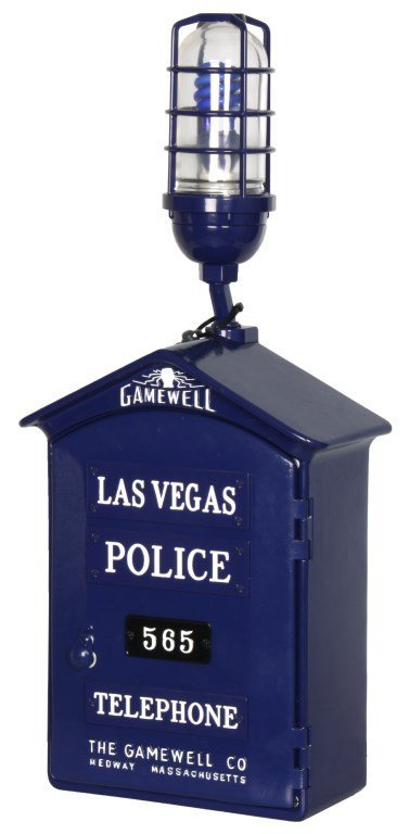 Gamewell Las Vegas Police Call Box