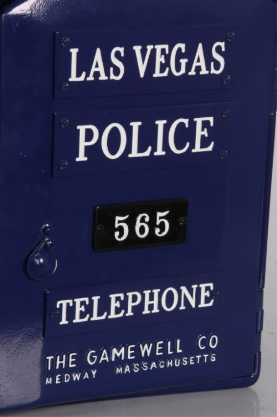 Gamewell Las Vegas Police Call Box - 5