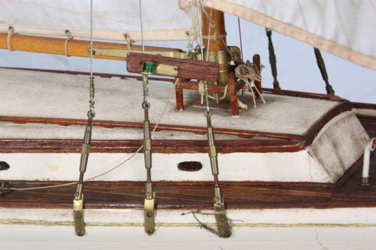 Vintage Seaworthy Yacht Pond Boat - 3