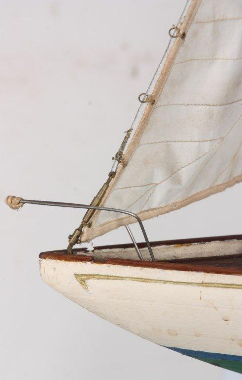 Vintage Seaworthy Yacht Pond Boat - 5