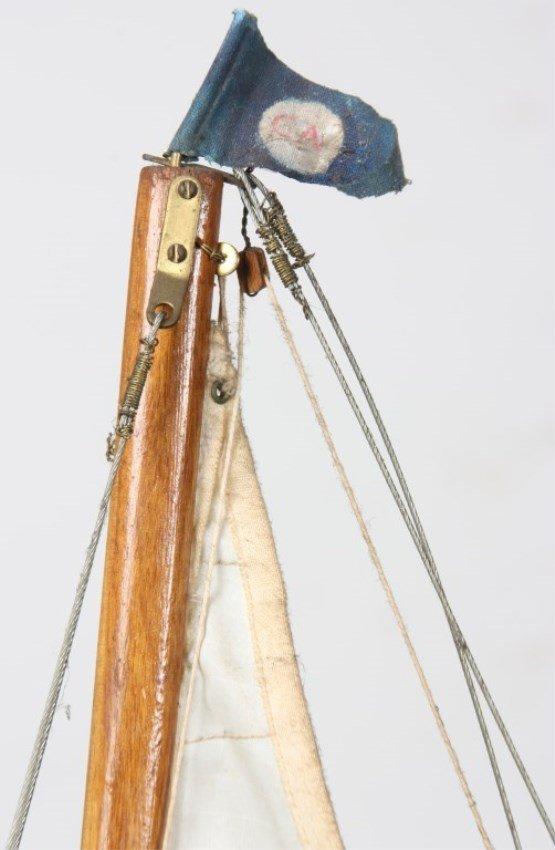 Vintage Seaworthy Yacht Pond Boat - 8