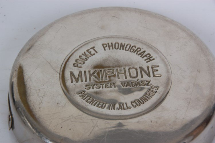Mikiphone Pocket Portable Phonograph - 4