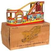 Chein Co Tin Toy Roller Coaster