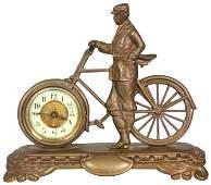 British United Clock Co. Bicycle Clock