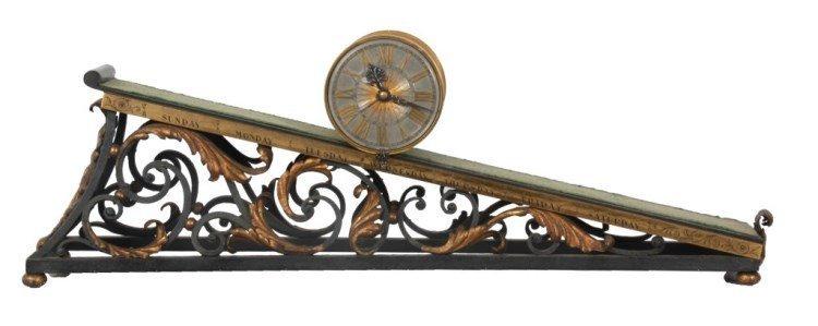 Gubelin Inclined Plane Clock