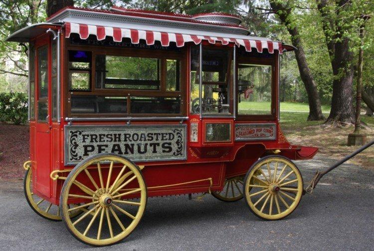 Cretors & Co. Model D Popcorn Wagon