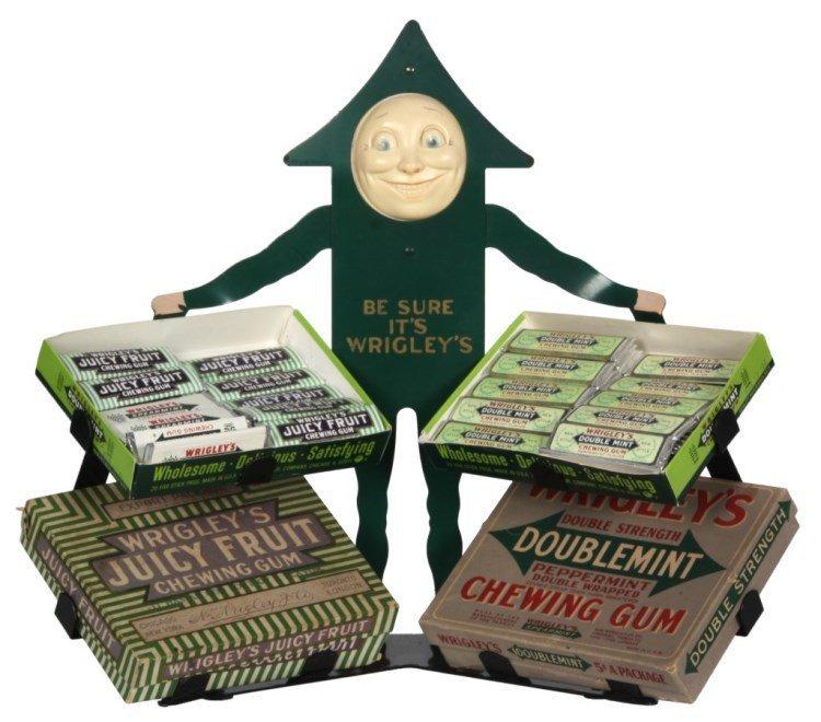 Wrigley's Chewing Gum Counter Top Display Rack