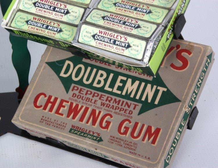 Wrigley's Chewing Gum Counter Top Display Rack - 7